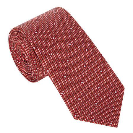 Textured Dot Pattern Tie