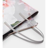 Cecie Chatsworth Canvas Shopper Bag Grey