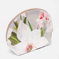 Marcene Chatsworth Dome Wash Bag Grey