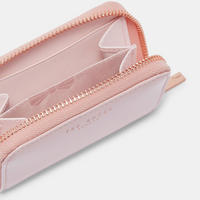 Omarion Patent Leather Mini Wallet Pink
