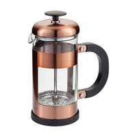 Three-Cup Copper Cafetiere