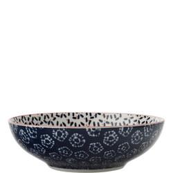 Boho Bowl Kiraku 18Cm Blue