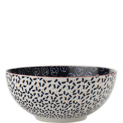 Boho Bowl Shibori 12.5cm Blue