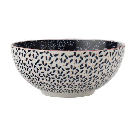 Boho Bowl Shibori 18Cm Blue