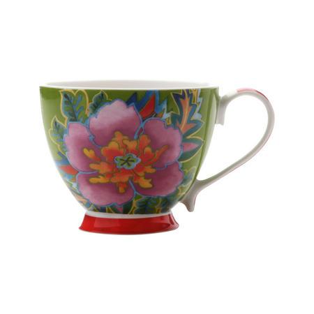 Hanoi Hibiscus Mug 400 Ml  Green