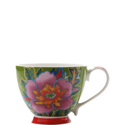 Hanoi Hibiscus Mug 400 Ml  Green