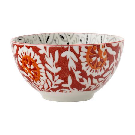 Boho Bowl Batik 10Cm Grey