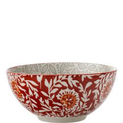 Boho Bowl Batik 15Cm Grey