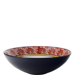 Boho Round Bowl 30Cm Multicolour
