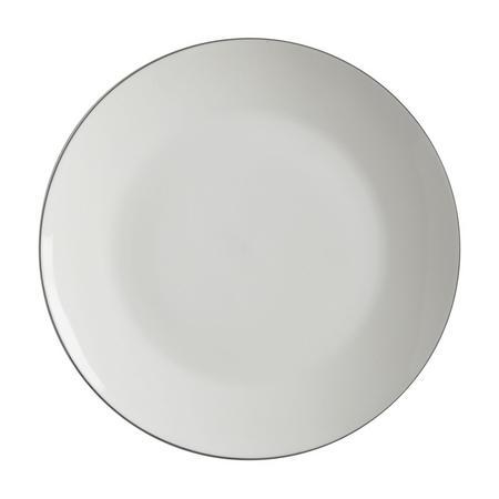 Edge Plate 23Cm White