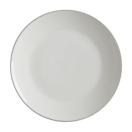 Edge Dinner Plate 27.5Cm  White