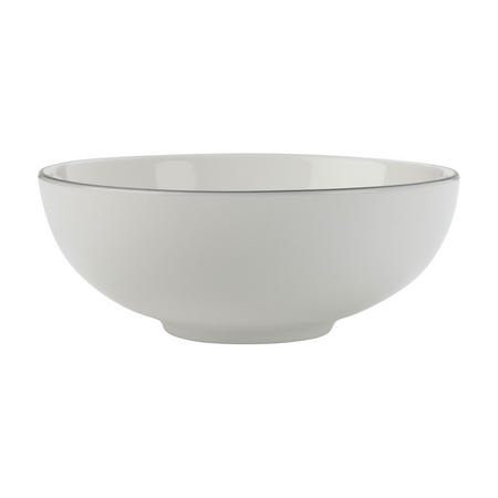 Edge Cereal Bowl 18.5 Cm White