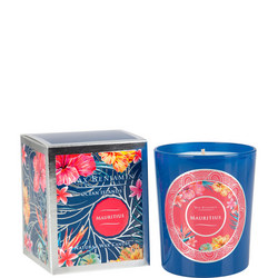 Ocean Islands Mauritius Scented Candle  Blue