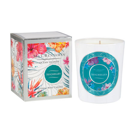 Ocean Islands Seychelles Scented Candle White