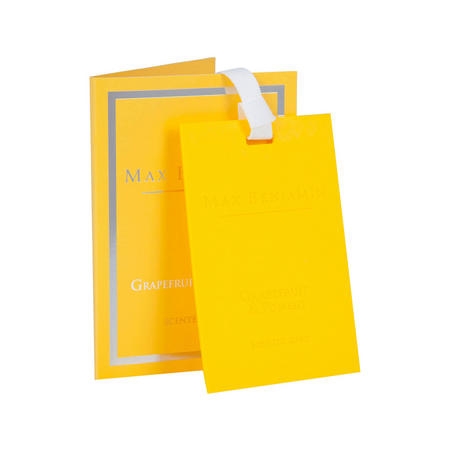 Grapefruit & Pomelo Scented Card Yellow