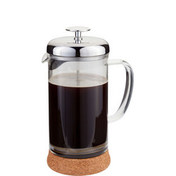 Eight-Cup Glass Cafetiere