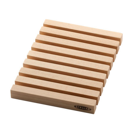 Wooden Beech Extentable Trivet