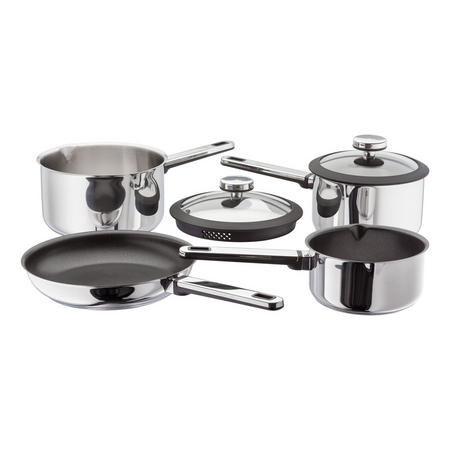 Stay Cool 4 Piece Draining Saucepan Set