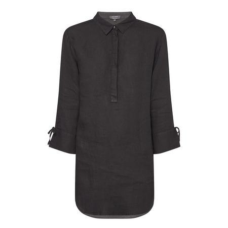 Classic Collar Tunic Black