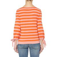 Ribbon Detail Striped Sweater Multicolour