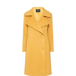 Calamaio Wide Collar Coat