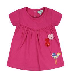 Balloon Birdie Dress Pink
