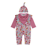 Babies Butterfly Romper Gift Set Multicolour