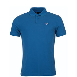 Tartan Placket Polo Shirt