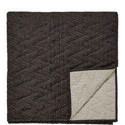 Arro Quilted Throw Black