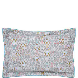 Mika Oxford Pillowcase Green