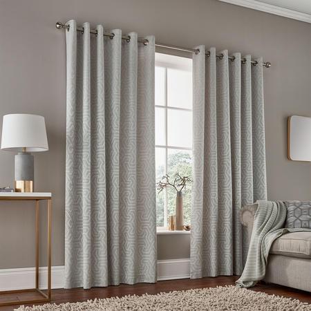 Kanza Curtain  White