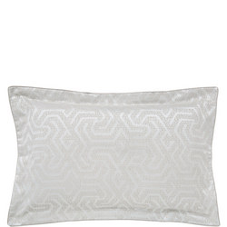 Kanza Oxford Pillowcase  White