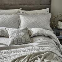 Kanza Standard Pillowcase  White