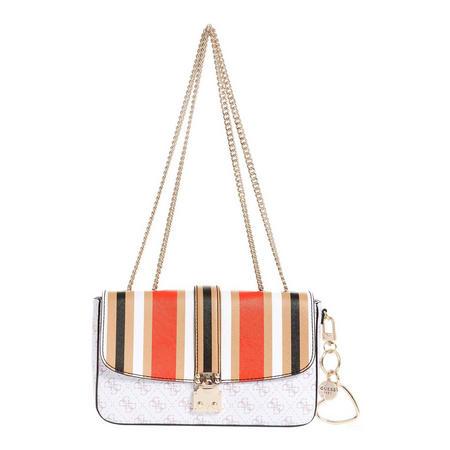 Joslyn Striped Crossbody Bag Multicolour
