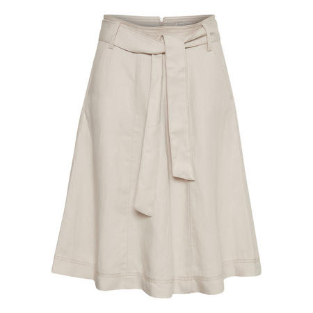 Ladonna A-Line Skirt Beige