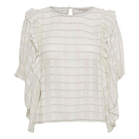 Lova Frill T-Shirt Beige