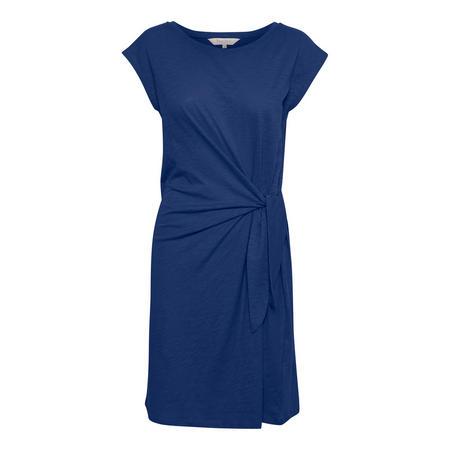 Laila Knot Dress Blue