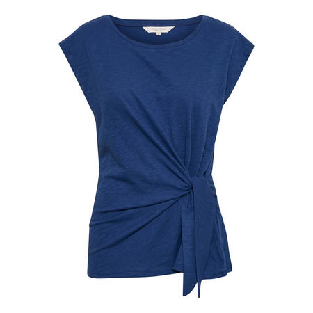 Laila Knot T-Shirt Blue