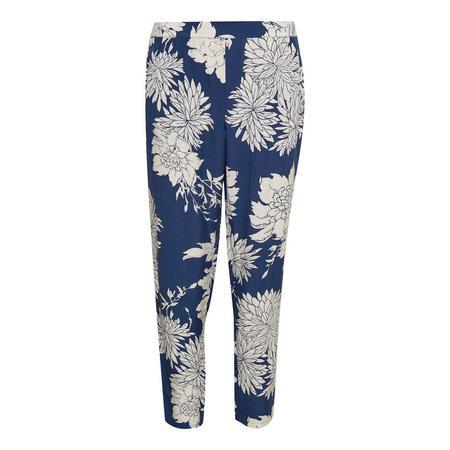 Litzy Floral Trousers Blue