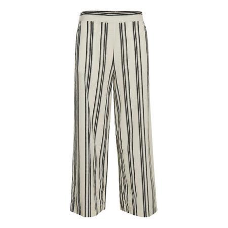 Lidda Stripe Trousers Cream