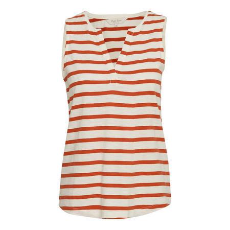 Halston Stripe Vest Multicolour