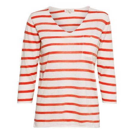 Dosta Stripe V-Neck Top Multicolour