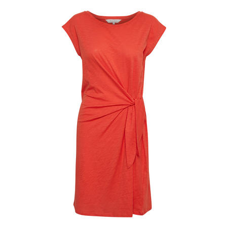 Laila Knot Dress Red