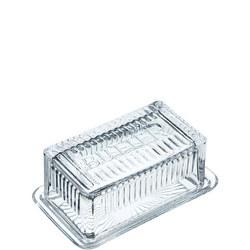 MasterClass Glass Butter Dish