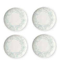 Polar Blue Plate 4 Piece Set 23Cm