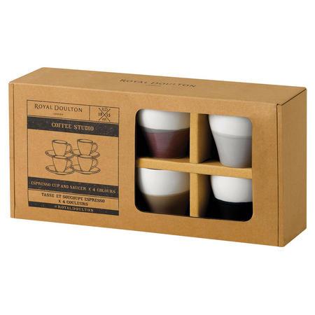 Coffee Studio Espresso Cup/Scr 110ml S/4