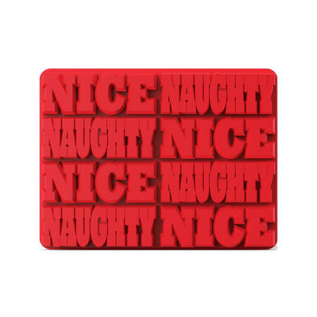 Ice Cube Tray Naughty/Nice Mold