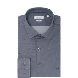 Circle Print Bari Formal Shirt