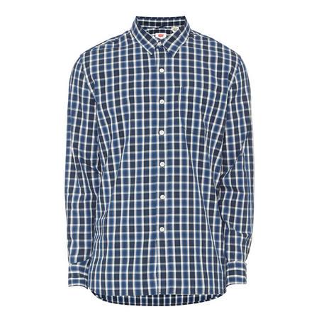 Sunset One Pocket Check Shirt