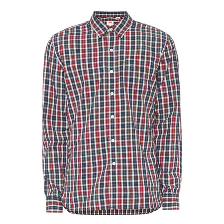 Sunset One Pocket Check Shirt